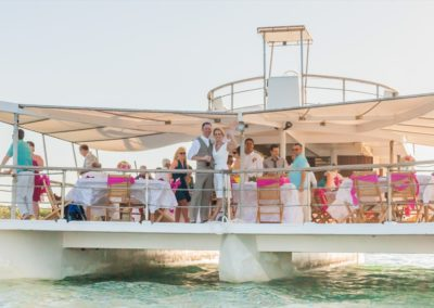 Weddingboatdominicanrepublic