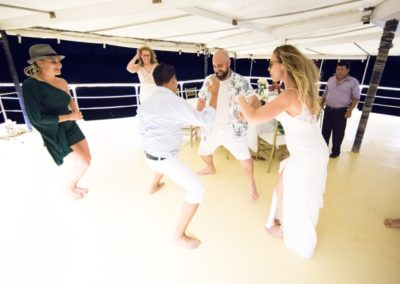 Weddingpartyonboard